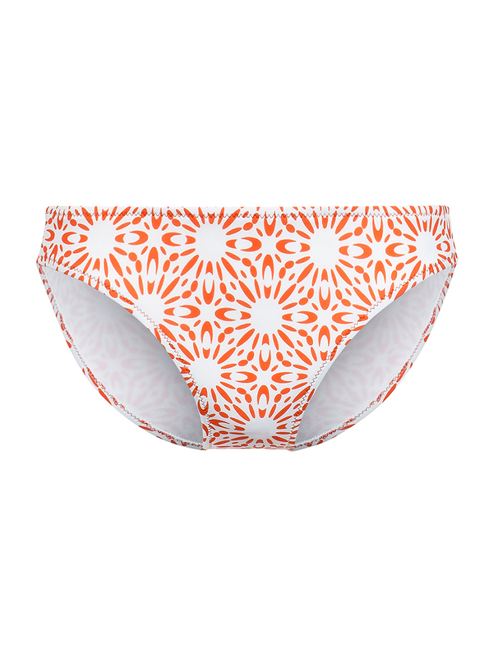 Beach panties Bikini-Slip ´´St. John´´ in orange -58% | Größe M Bikini Sale Angebote
