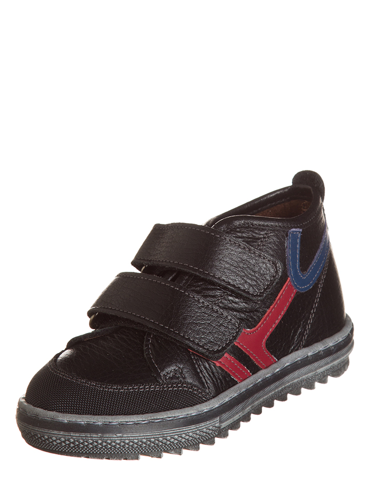 Billowy Leder-Sneakers in Schwarz - 59% | Größe 33 Kindersneakers