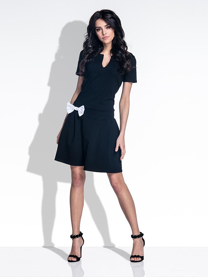 Laubsdorf Angebote Fobya Kleid in Schwarz - 75% | Größe XL Damen kleider