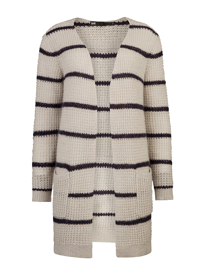 WE Fashion Cardigan in beige -39% | Größe M | C...