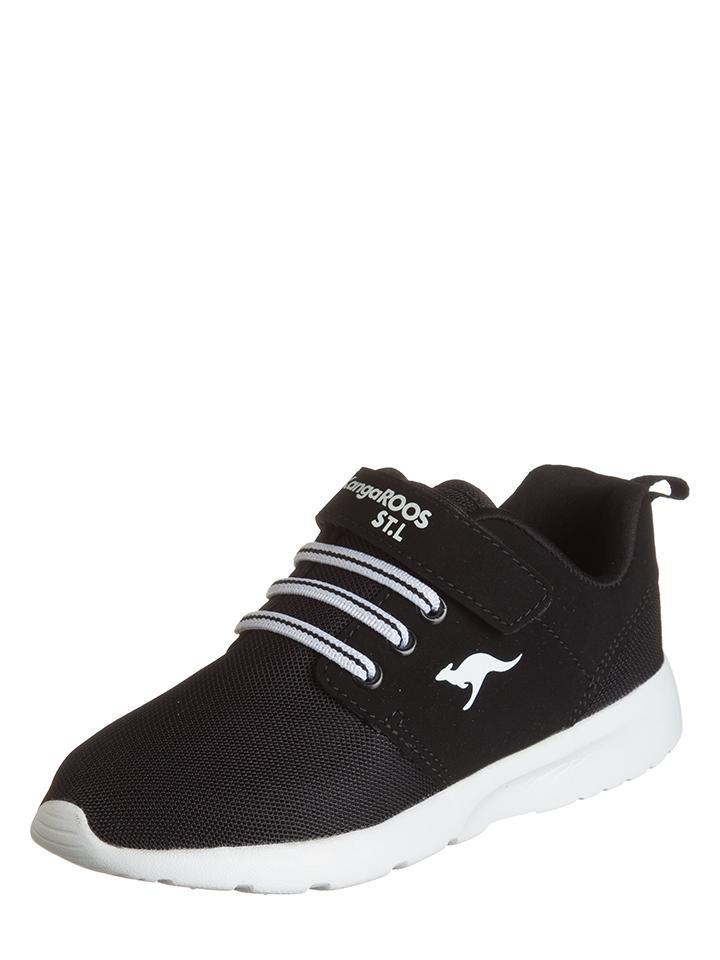 Kangaroos Sneakers ´´Hinu EV´´ in Schwarz - 44% | Größe 33 Kindersneakers