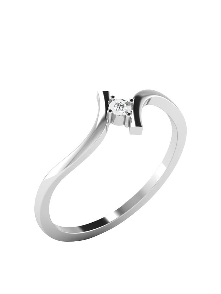 Royal Diamant Weißgold-Ring mit - 85% | Größe 51 Schmuck