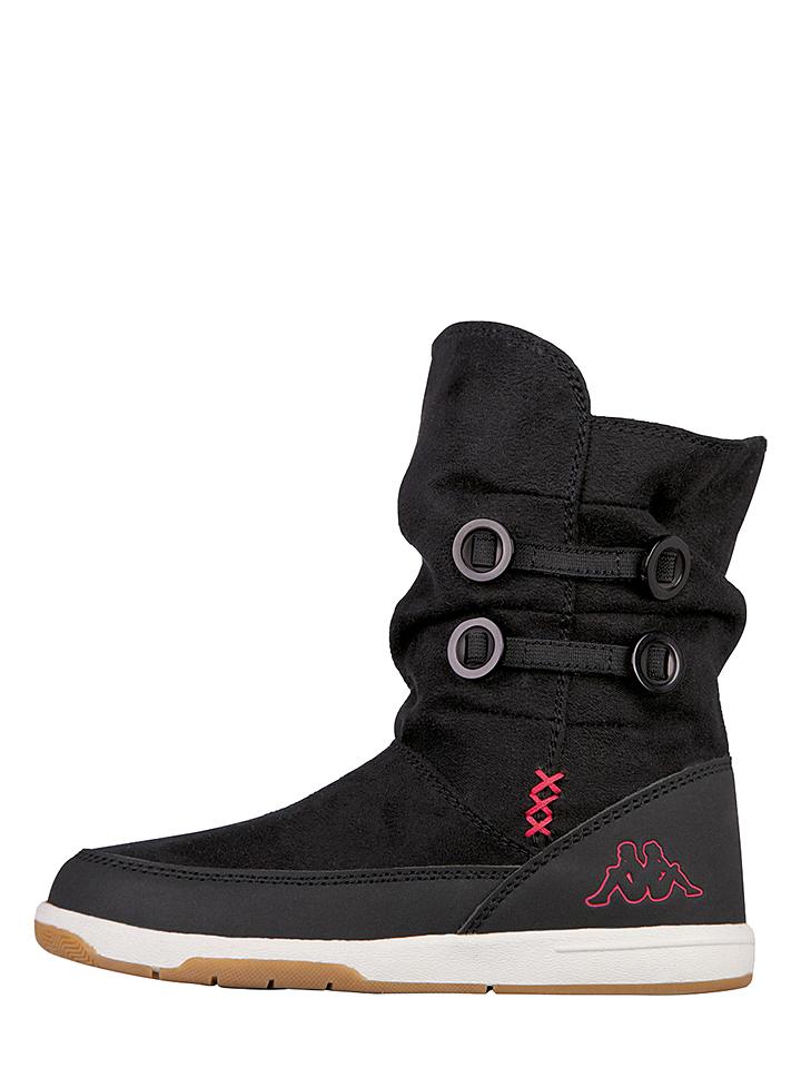 Kappa Stiefel ´´Cream K´´ in Schwarz -46% | Größe 25 Sale Angebote Wiesengrund