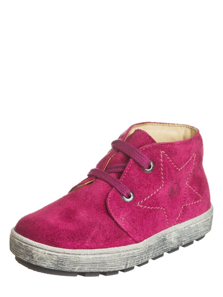 Naturino Leder-Sneakers in Pink - 42% | Größe 35 Babysneakers