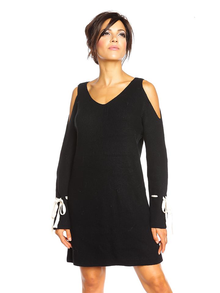 So Cachemire Kleid ´´Emilie´´ in Schwarz - 68% | Größe L Damen kleider