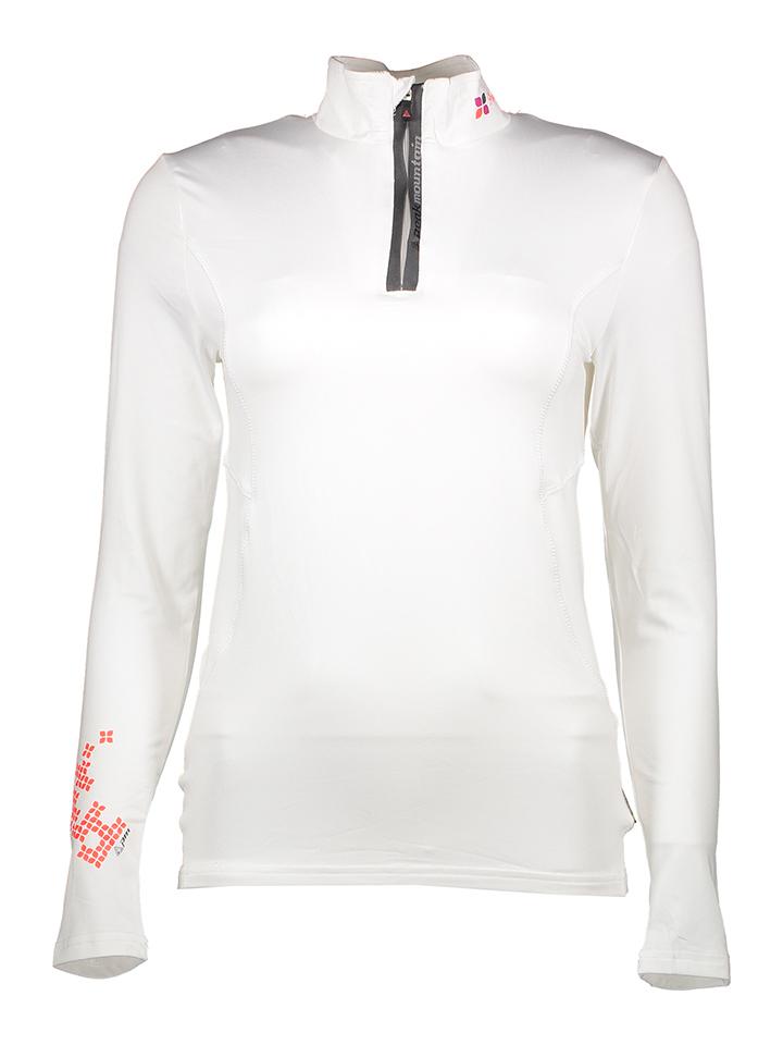 Peak Mountain Funktionsshirt in Weiß - 72% | Größe 34 Damen tops