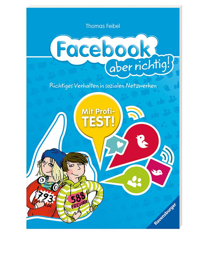 Ravensburger Ratgeber Facebook aber richtig! - 57% | Kinderbuecher