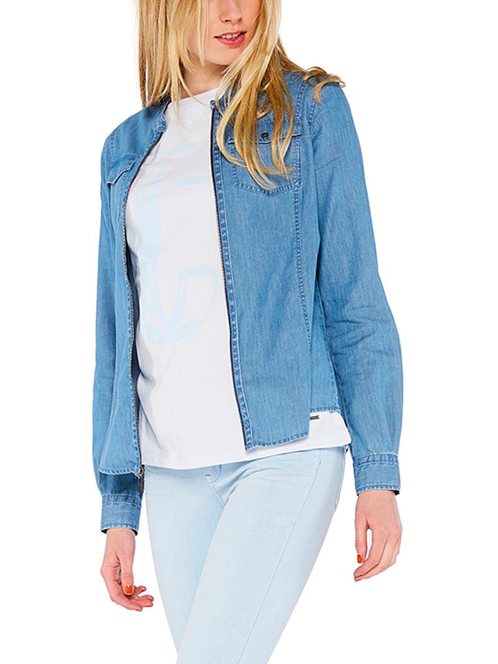 Hornow-Wadelsdorf Angebote Colorado Jeans Jeans-Bluse ´´Luva´´ in Blau - 52% | Größe M Damen blusen