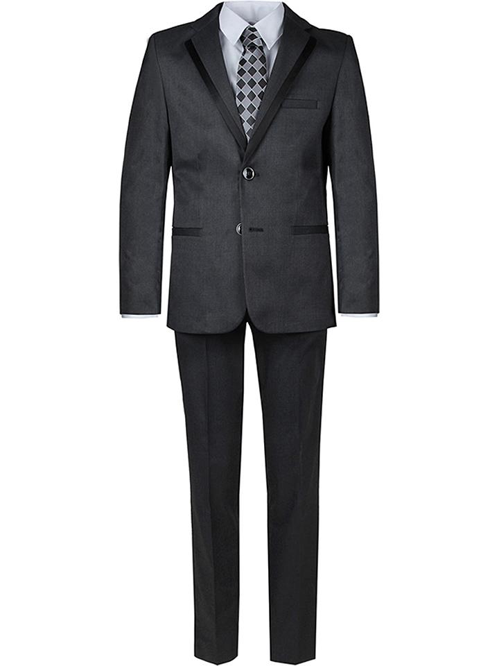 New G.O.L Anzug - Slim fit in Anthrazit 48% | Größe 176 Kinder anzuege kostueme