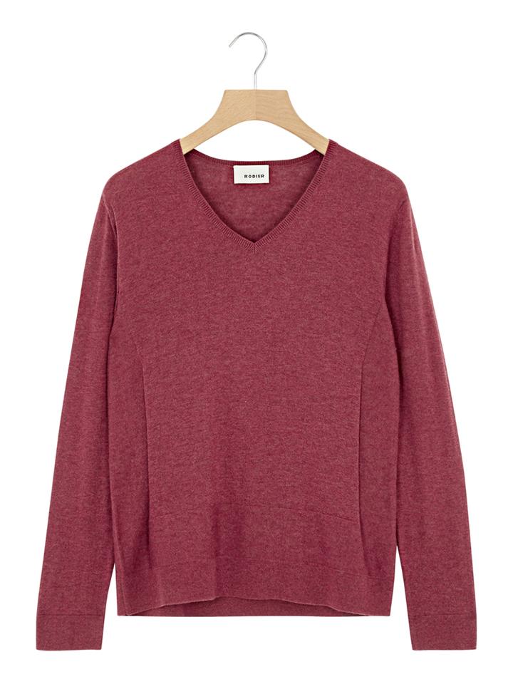 Rodier Pullover in Rot - 70% | Größe 36 Damen pullover