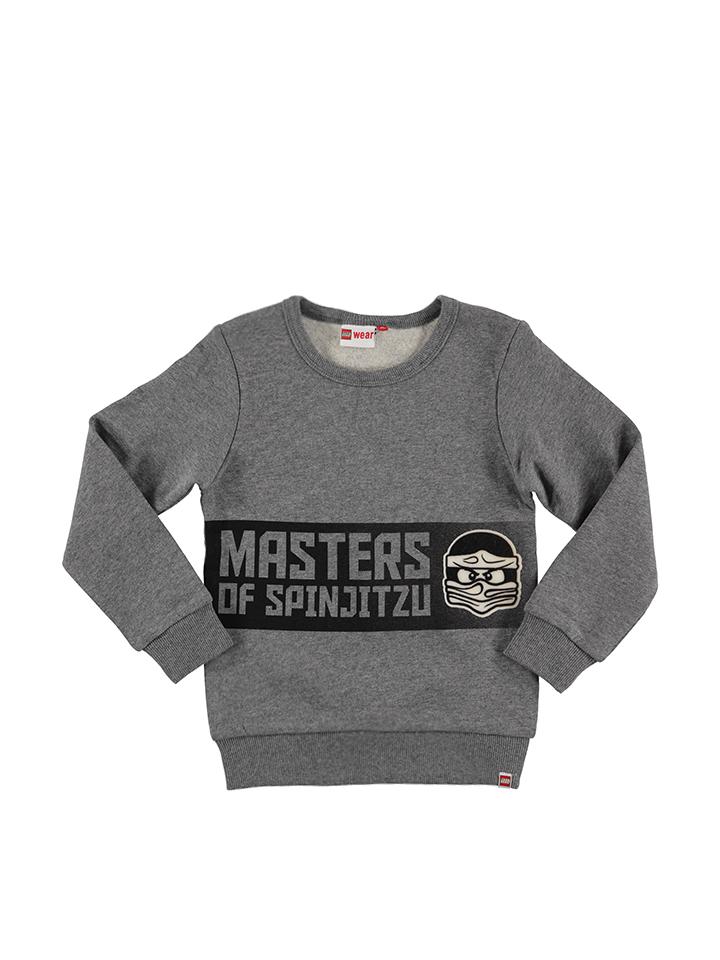Legowear Sweatshirt ´´Saxton 708´´ in Grau - 50% | Größe 152 Kinderpullover strick