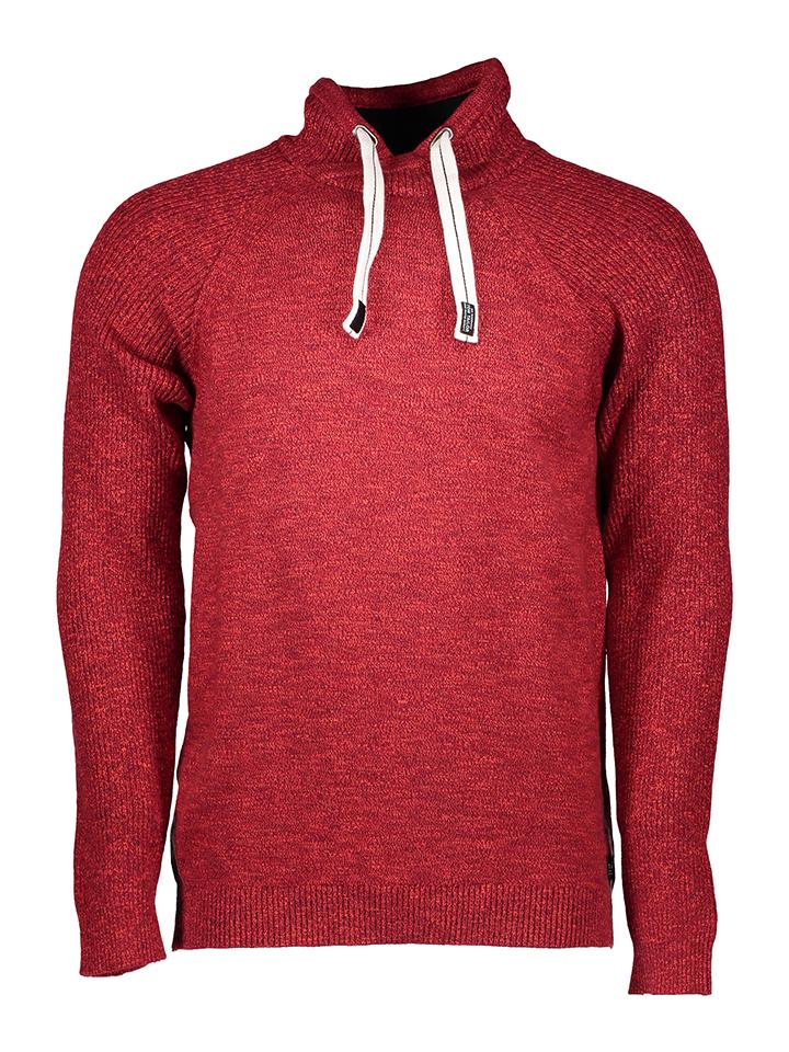 Tom Tailor Pullover in Rot - 60%   Größe L Herren pullover strick