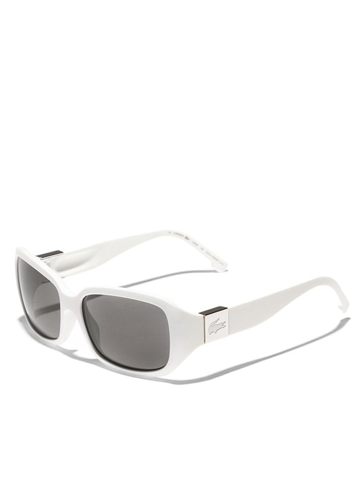 lacoste damen sonnenbrille in wei grau. Black Bedroom Furniture Sets. Home Design Ideas