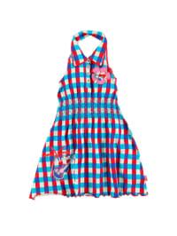 Dutch Bakery Kleid in blau/ rot/ weiß