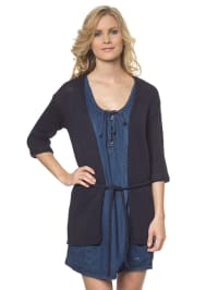 Tom Tailor 3/4-Arm-Cardigan in dunkelblau