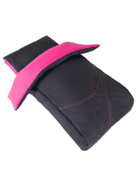 Cybex Buggy-Fußsack in Schwarz/ Pink
