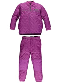 "Color Kids Outfit ""Netherland"": Thermo-Jacke und Thermo-Hose in Lila"
