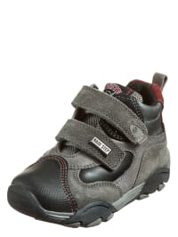 "Naturino Sneakers ""Tivo"" in grau/ schwarz/ rot"