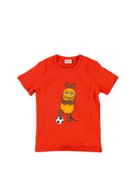 "Die Maus Shirt ""Fussball III"" in rot"