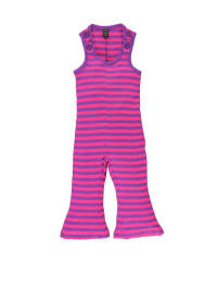 Moonkids Overall in Pink/ Lila