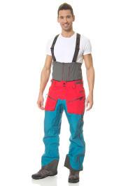 "Oakley Ski-/ Snowboardhose ""Unification Pro"" in petrol/ rot/ grau"