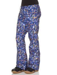 "Oakley Ski-/ Snowboardhose ""Fit"" in blau/ orange"