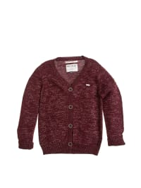 Retour Cardigan in Bordeaux/ Gold