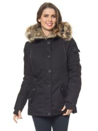 Authentic Style Winterjacke in Schwarz