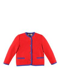 Kitz-pichler Woll-Janker in rot/ blau