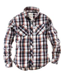Roadsign Hemd in rot/ dunkelblau/ weiß