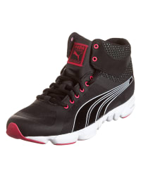 Puma Sportschuhe in Schwarz/ Pink/ Weiß