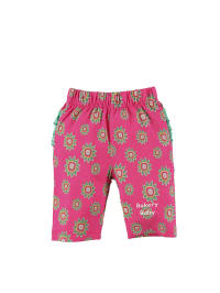 Dutch Bakery Leggings in pink/ bunt