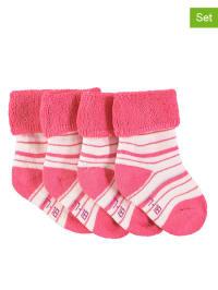 Sterntaler 2er-Set: Babysocken in Pink/ Rosa