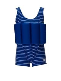 """Beverly Kids Schwimmanzug """"Jump to the Beach"""" mit Schwimmhilfe in Blau"""