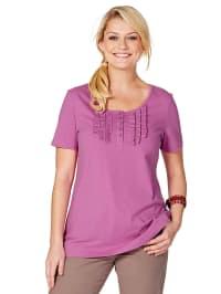 Sheego Shirt in flieder