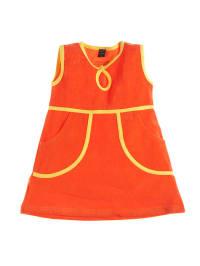 Moonkids Kleid in Orange