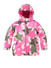 """Ticket Outdoor Funktionsjacke """"Nana"""" in Pink/ Khaki"""