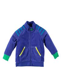 Green Cotton Sweatjacke in Blau