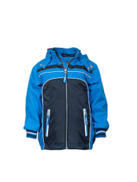"Ticket Outdoor Funktionsjacke ""Logan"" in Blau/ Dunkelblau"