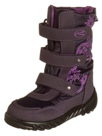 Richter Shoes Stiefel in Aubergine