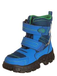 Richter Shoes Boots in Blau/ Grün