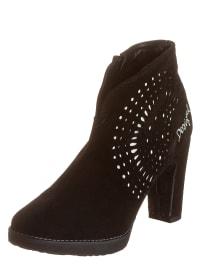 """Desigual Ankle-Boots """"Oli"""" in Schwarz/ Weiß"""