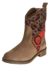 "Desigual Boots ""The"" in Hellbraun/ Bunt"