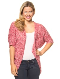 "Vero Moda Cardigan ""Dawn"" in Rot/ Weiß"