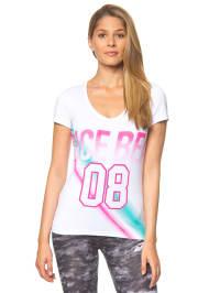 "Venice Beach Sportshirt ""Bahia"" in weiß/ bunt"
