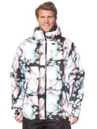 "Völkl Ski-/ Snowboardjacke ""Khula 3D"" in Weiß/ Bunt"