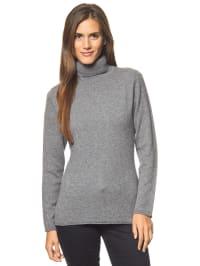 Bluhmod Kaschmir-Pullover in Grau