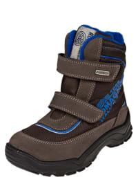 Romagnoli Boots in hellbraun/ braun