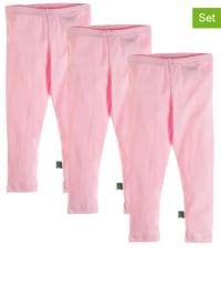 Green Cotton 3er-Set: Leggings in Rosa