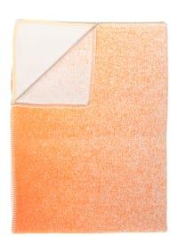 """David Fussenegger Decke """"Sylt"""" in Orange/ Gelb"""